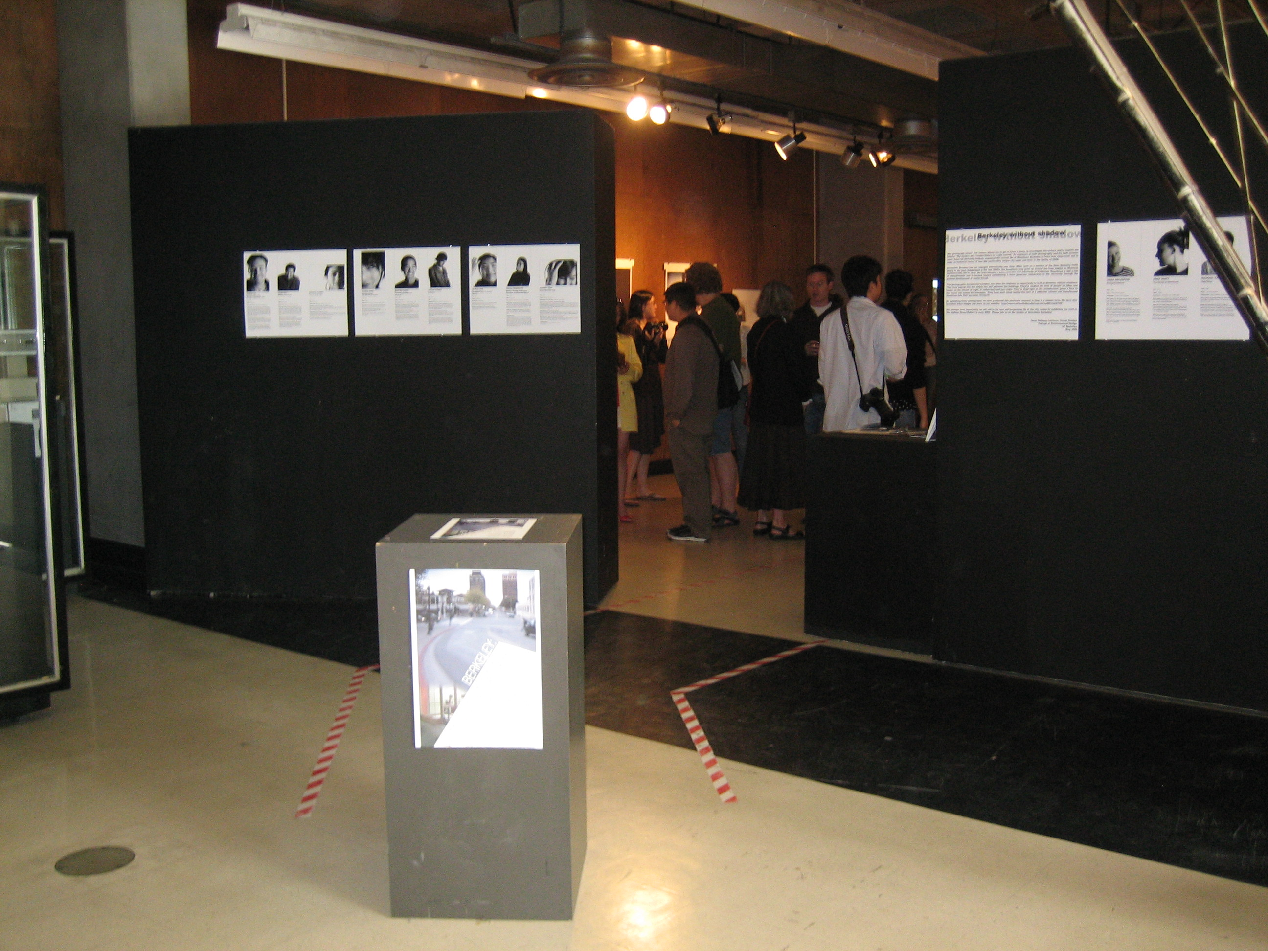 Entrance into Exhibition