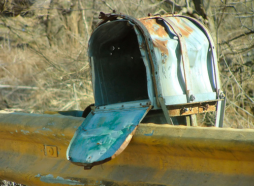 mailbox, mailbag, what's the difference?