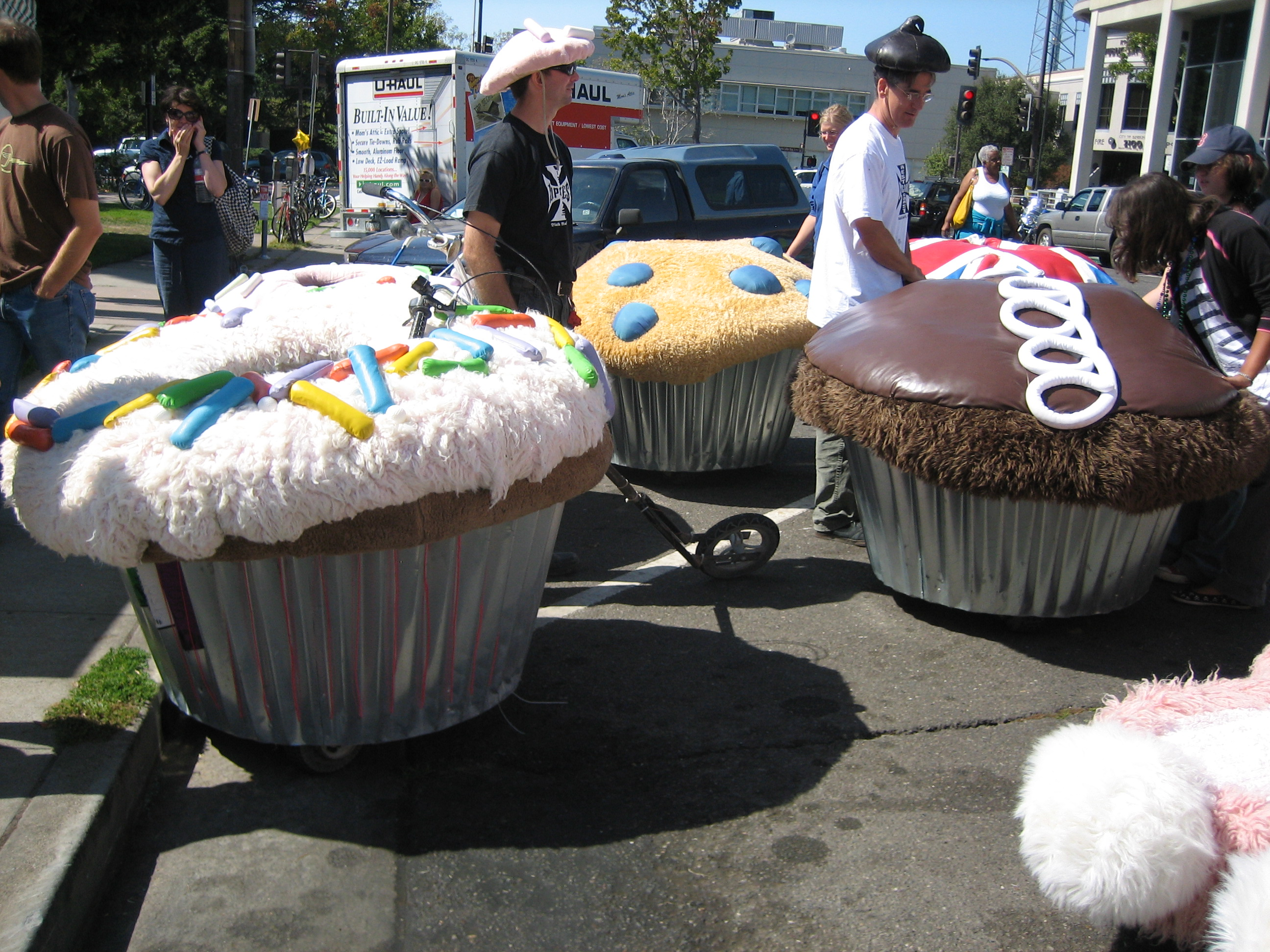 There's nothing more Berkeley than baked goods.