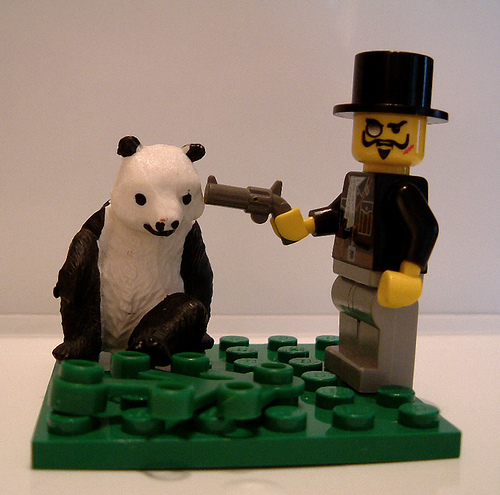 You messed with the wrong food court, PANDA!