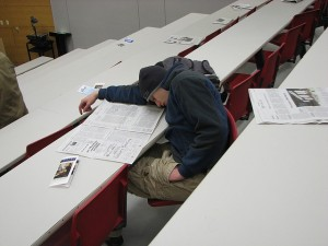 No snoring in class!