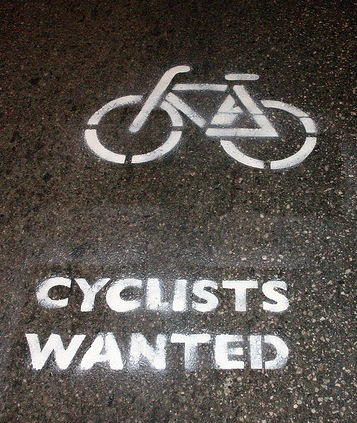 cyclists wanted