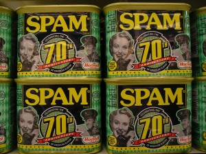 Women suffrage: beat out SPAM™ by 30 years.