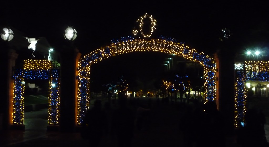 Sather gate lights