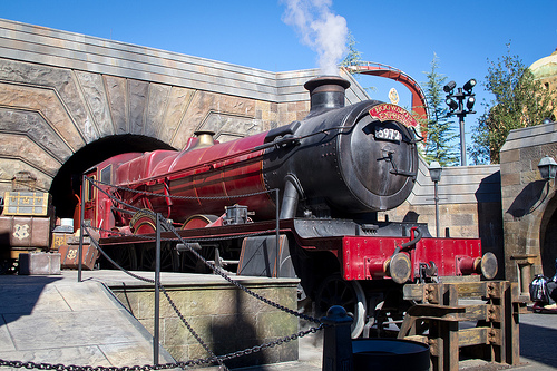Take the Hogwarts Express to fun!