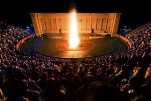 bonfire greek theater
