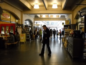 Inside the Ferry Building...
