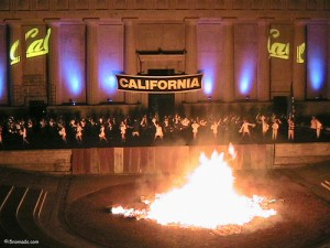 bonfire rally