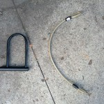 A U-Lock and cable