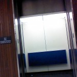 Moffitt has sketchy elevators that hum, groan and go 'bing'