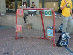 Cal Field Hockey has a goal set up tempting all the hit their preferred rival. Would you like to target Stanford or UCLA today?