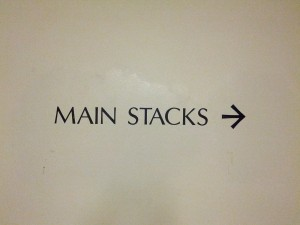 Main Stacks is that way.